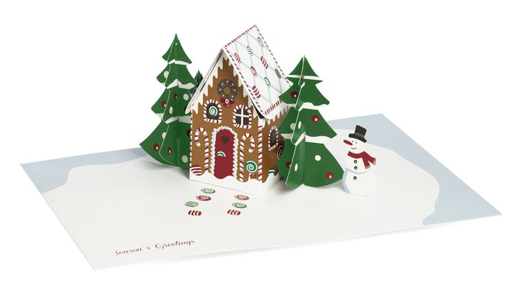 MoMA - Gingerbread Cabin