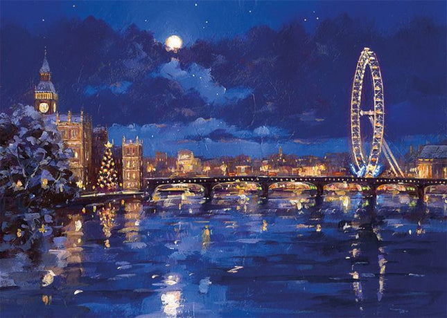 Museums and Galleries - The Thames And London Eye x 8