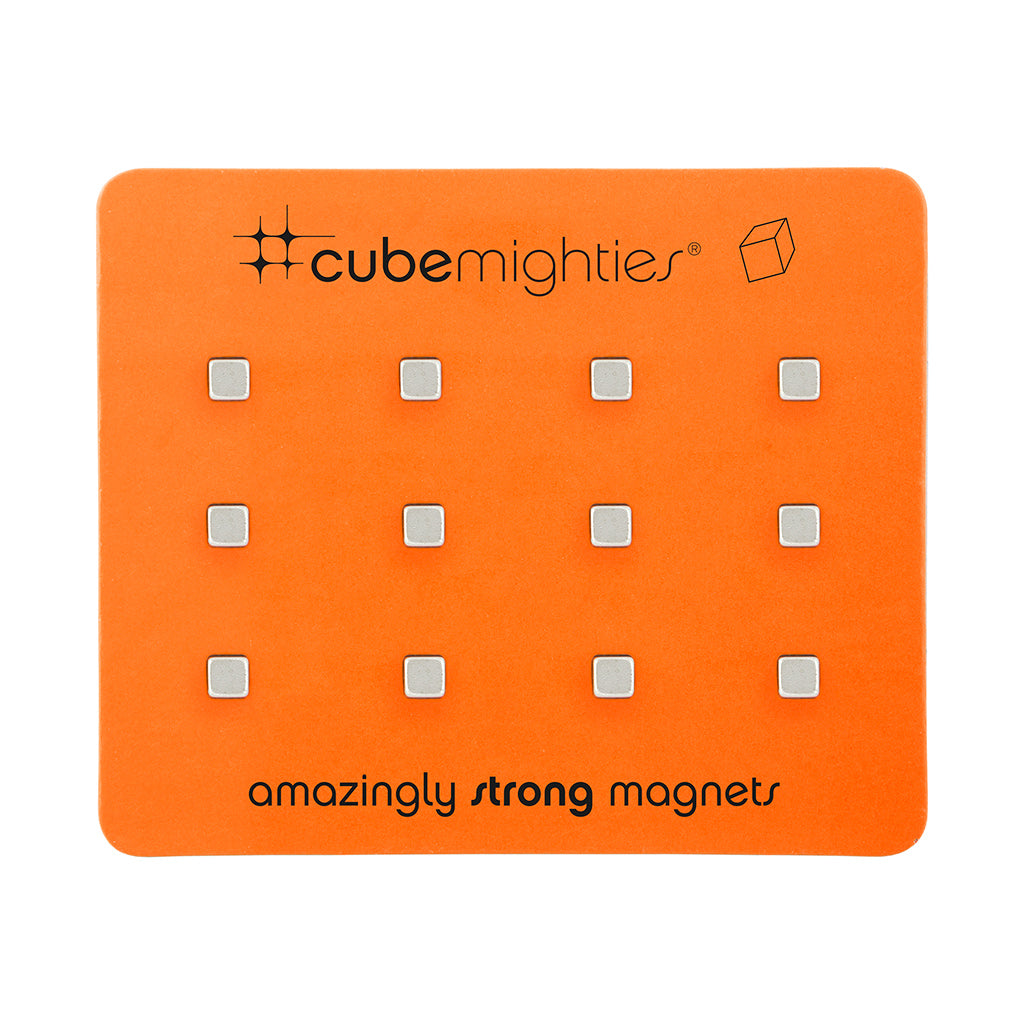 Mighties - Mini Cube Magnets - Original x 8
