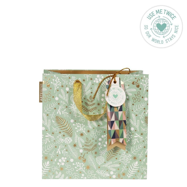 Artebene - Fern on Green Medium Bag (Collection & Delivery)
