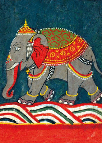 Museums and Galleries - Caparisoned elephant