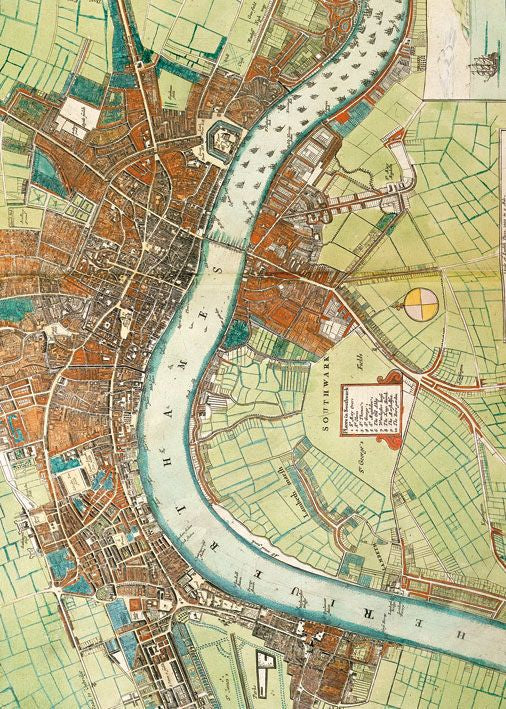 Museums and Galleries - A map of London