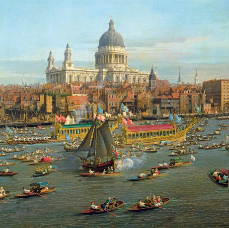 Museums and Galleries - River Thames on Lord Mayors Day