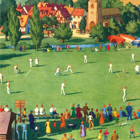 Museums and Galleries - Cricket on the village green
