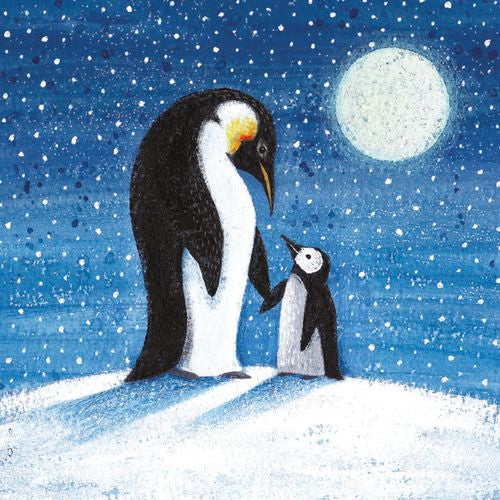 Museums and Galleries - Moonlit Penguins x 8