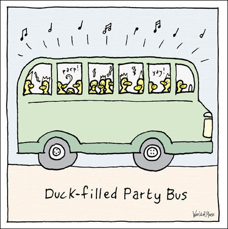 World Of Moose - Duck-filled Party Bus