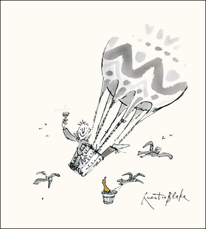 Quentin Blake - Hot Air Balloon