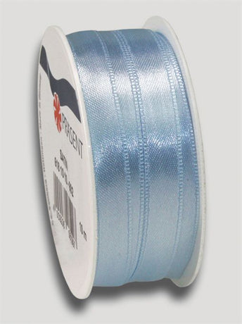 10m Satin Ribbon 10mm - Light Blue