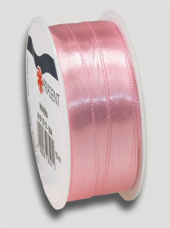 10m Satin Ribbon 10mm - Soft Pink