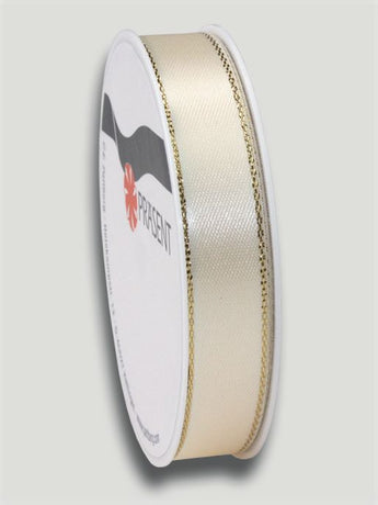 4m Broadway Ribbon 15mm - Cream