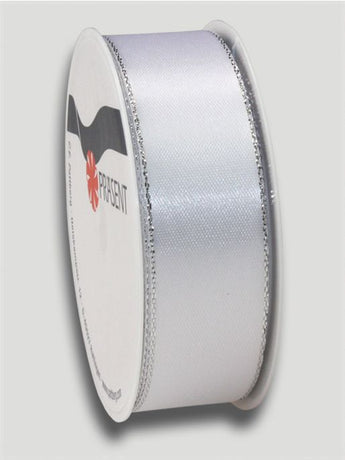 3m Broadway Ribbon 25mm - White