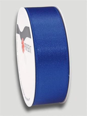 5m Satin Ribbon 25mm - Dark Blue