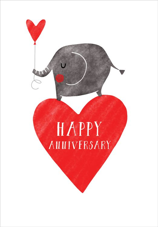 Art File - Heart Ballon - Anniversary