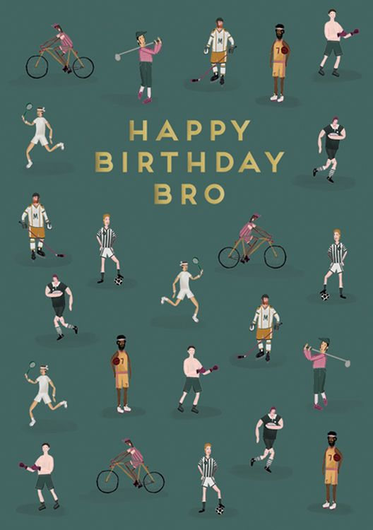 Art File - Brother Birthday