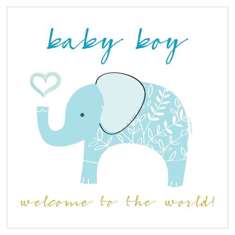 Think of Me - Baby Boy Elephant