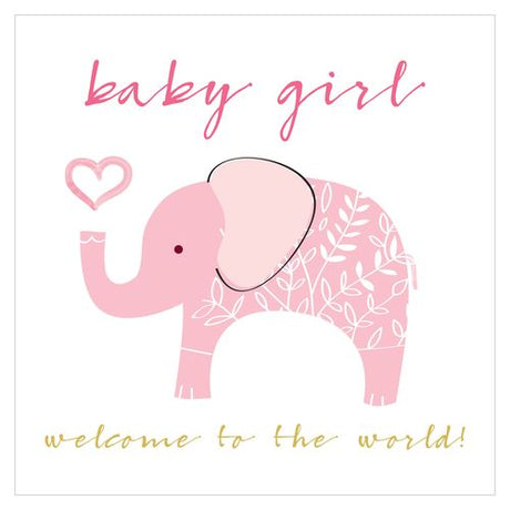 Think of Me - Baby Girl Elephant