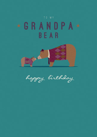 Art File - Grandpa bear
