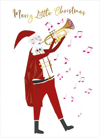 Real and Exciting - Santa Trumpet