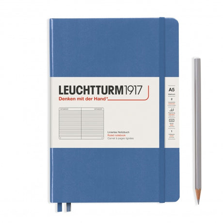Leuchtturm A5 Ruled Notebook - Denim