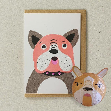 Petra Boase - Dog Paper Balloon Card