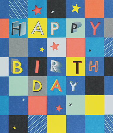Paperlink - Happy Birthday Squares