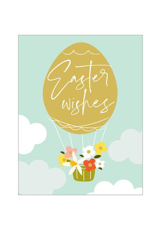 Think Of Me - Easter Wishes Balloon