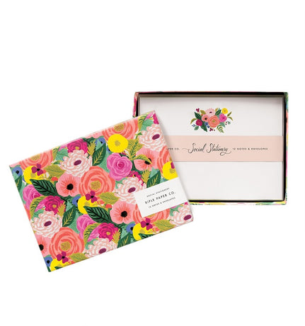 Rifle Paper Co - Juliet Rose Social Stationery