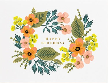 Rifle Paper -  Birthday bouquet