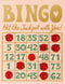 Rifle Paper - Love Bingo