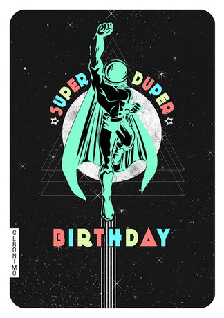 Geronimo - Super duper birthday spaceman