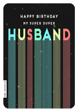 Art File - super duper husband