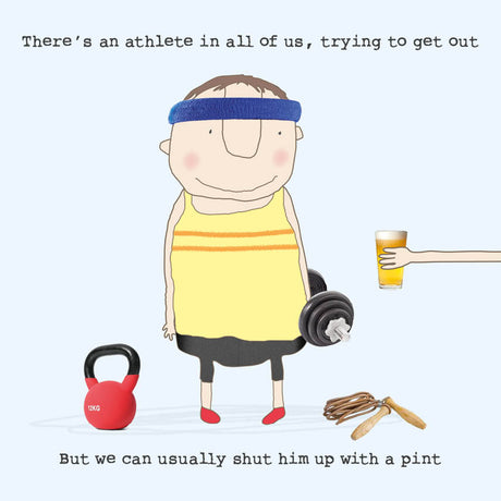 Rosie Made A Thing - Athlete Pint