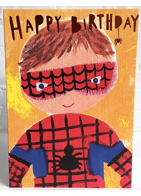 Paper Salad - Birthday spiderman