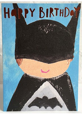 Paper Salad - Birthday batman