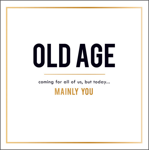 Alice Scott - Old age is coming