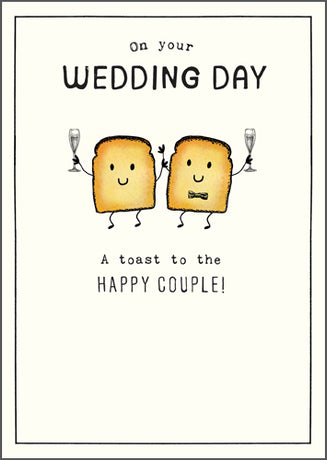 Etched - Toast to the happy couple