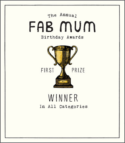 Etched - Fab Mum awards