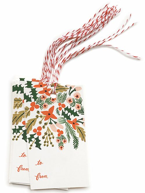 Rifle Paper - Winter Berries Gift Tags