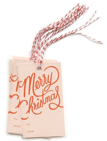 Rifle Paper - Merry Christmas Gift Tags