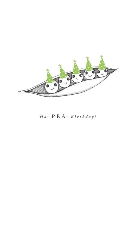 Art File - Hap-Pea Birthday