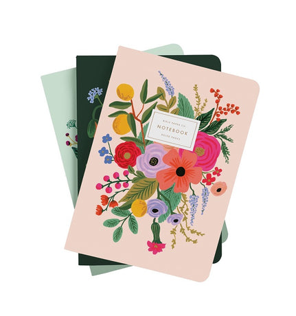 Rifle Paper Co - Garden Party Notebooks x 3