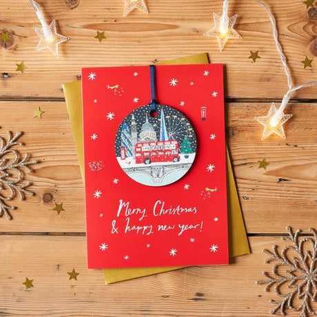Jessica Hogarth - London Skyline Bauble Keepsake