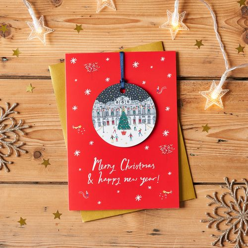 Jessica Hogarth - Ice Skating Bauble Keepsake