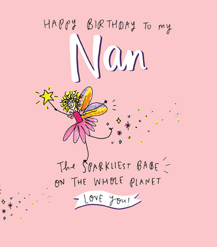The Happy News - Nan the sparkiest babe