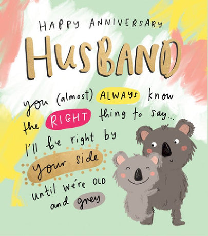 The Happy News - Husband Anniversary