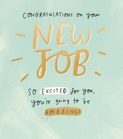 The Happy News - New Job So Excited For You