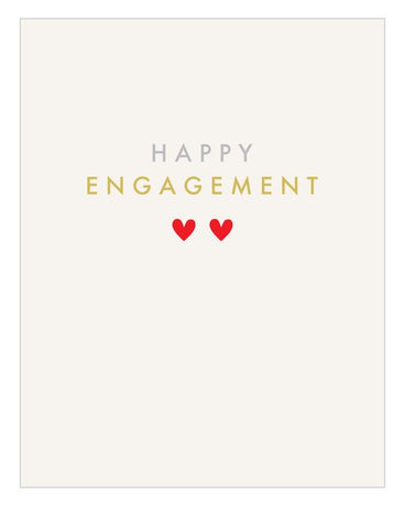 Think Of Me - Engagement Hearts