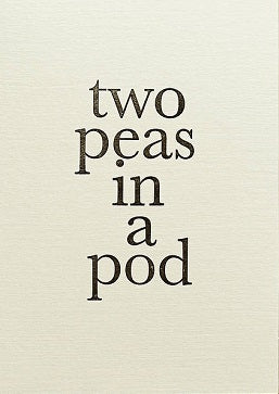 Katie Leamon - Two peas in a pod