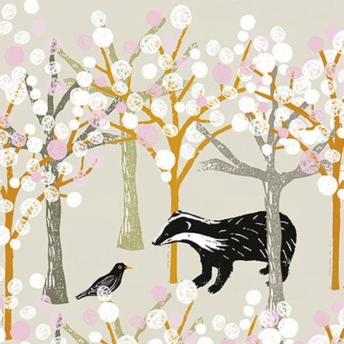 Liza Saunders - Badger and Bird