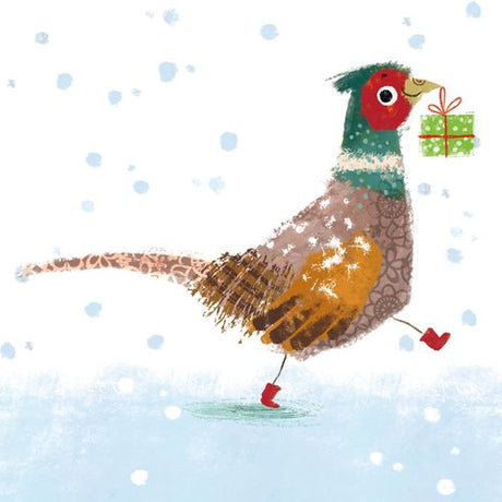 Museums and Galleries - Running Pheasant x 8